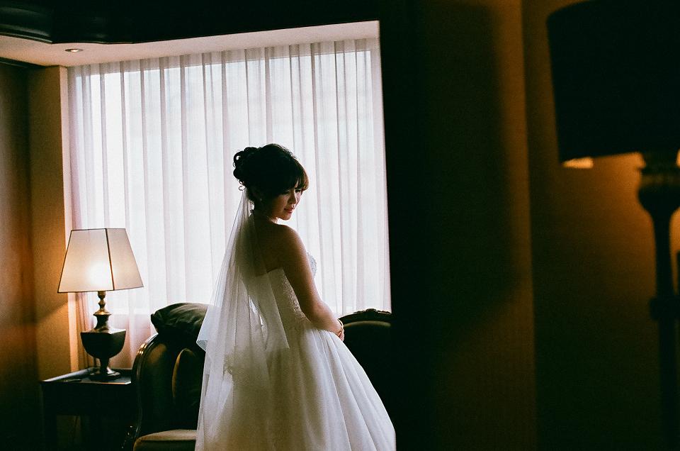 [底片婚攝]乃倫&奕忻 底片婚禮紀錄 @君品酒店