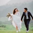 底片婚紗,小清新婚紗,美式婚紗,美式風格,台北自助婚紗,乾燥花造型,自然風格婚紗