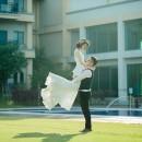 全國花園鄉村俱樂部,類婚紗,苗栗婚攝,送客合照,婚禮紀錄